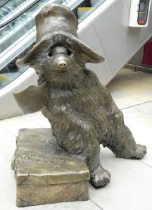 Guess who lives at Paddington Station? Paddington Bear!