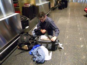 Bruce @ Logan Airport.