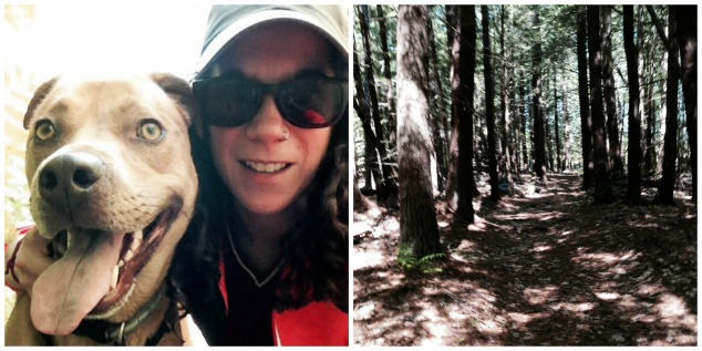 Trail Running With My Best Girl